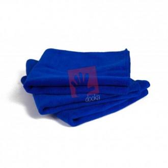dooka plush blue microfibre
