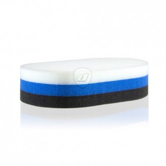 "Zaino 6"" Tri-Foam Oval Applicator"