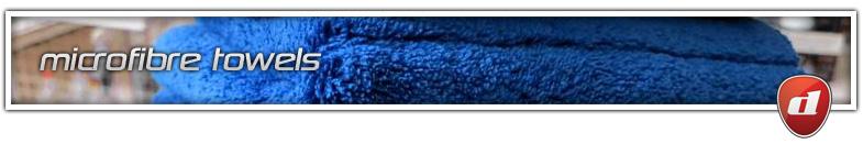 microfiber cloths and drying towels - dooka detailing - northampton